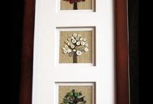 framed craft ideas