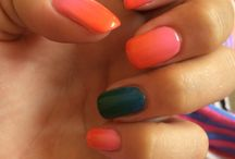 Nails by Statement Nails / Shellac Ombré
