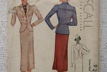Sew it Vintage In Color / not only the patterns , but OH the graphics!! / by Donna ~♥~