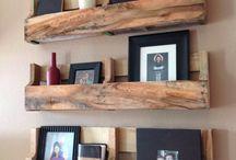 Palettes - Pallets / Idées de deco et projets DIY pour faire des meubles, étageres, bars ou tables avec du bois de palette   Ideas and DIY projets to make headboard, wall or furniture with pallet wood
