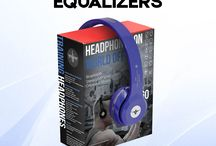 Equalizer V.2 Collection - Wireless Headphones / With the Equalizers V.2 Bluetooth Wireless headphone by Gripped Fitness Audio, you don't have to sacrifice durability for affordability Never worry about getting your headphones ripped off mid-workout again. And, with enhanced tone-boosting parts, you'll be able to attack your workout harder than ever before. Affordable, Stylish, Durable. Need we say more? HEADPHONES ON, WORLD OFF