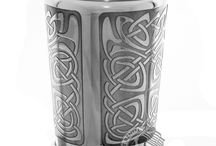 Pewter Tankards and Cups / Authentic pewter tankards and cups made from the highest quality pewter with many designs of Thistle and Celtic.