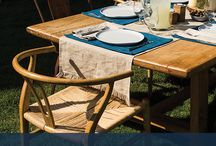 Entertaining Al Fresco / Recipes, tips and tricks to make your outdoor dining experience the highlight of the Summer.