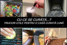 Tips and tricks pentru curatenie in casa