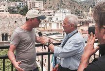 Gigi D'alessio al Taormina Film Festival per Malaterra
