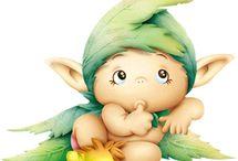 Forest Fairies Sprites Dwarfs