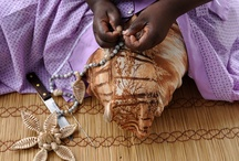 Jewelry made with basketry technics