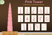turnul roz montessori