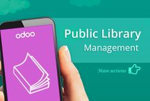 Odoo Public Library Management / Public Library Management is an Odoo Module that helps Library Managers in establishing  and running their Libraries!