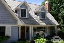 Dormers / Dormers can be a very attractive element to many types of home.  Used either simply as an architectural detail, or to gain additional storage, many homes benefit from these attractive dormers.