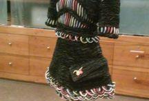 Vestidos de papel, exposición
