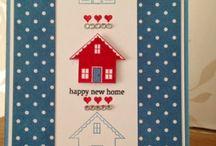 Onnea uuteen kotiin kortit
