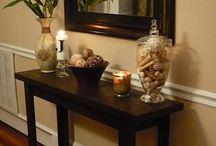 hall table ideas
