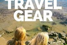 Travel Gear / adventure travel gear, hiking gear, swim gear, luggage,