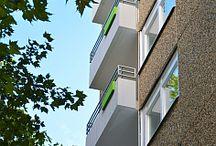 Wohnen in Gelsenkirchen / Die Pinnwand zeigt Bilder zum Thema Wohnen in Gelsenkirchen