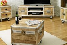 Roadie Chic Industrial Furniture / The amazingly sensational and eye-catching Roadie Chic hardwood furniture range is constructed utilising reclaimed timbers. Every piece is hand-built by skilled craftsmen and so is uniquely different and somewhat original in itself.