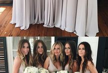 Halles dream wedding bridesmaids dresses