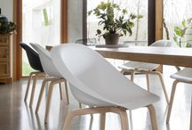 HOOP chair / The #HOOP #chair #design by #KarimRashid 2016. comfortable, wraparound, fire-retardant structural polyurethane shell. Sinuously shaped, lightweight, minimalist... for #indoors and #outdoors