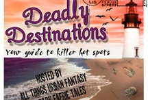 Deadly Destinations 2013 / Deadly Destinations is back!  Starting on July 1st and running the whole month,  All Things Urban Fantasy & Dark Faerie Tales invite you to visit all the different supernatural worlds/locations (guided by your favorite characters) from 62 of the most anticipated new Summer releases.  / by All Things Urban Fantasy