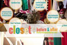 Decor: closets / by Christy Meyer