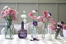 Flores em vaso / by Maria Luiza Magalhaes