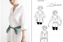 Ako nosiť hodvábne šatky