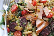 super salads / by Melissa Poling