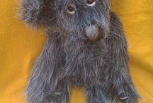 Wayward Bears / The bears I make from recycled coats.