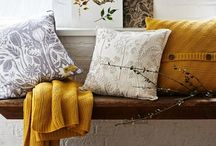 Autumn Interiors / Trends and inspiration for creating beautiful autumnal looks inside your home.