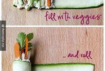 entrée de légumes