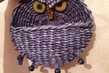 papírové pletení