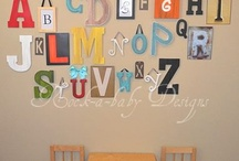 Funky Customized Wall Letters!