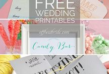 wedding printable