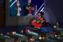 Vtípky superhrdinové