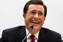 "My ""boyfriend"" / Stephen Colbert / by Jennifer Stauss Windrum"