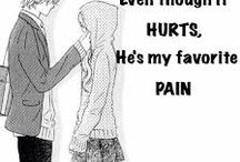 Anime quotes / This board has funny and cute anime quotes that I have found on internet. DISCLAIMER: I DO NOT OWN ANY OF THESE PICTURES