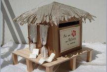 Urne / table cadeaux