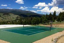Tennis and net games / SnapSports is the industry leader in backyard courts and tennis courts. You have a sport we have your court