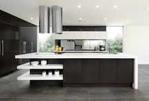 Pete Evans Kitchen / Our first kitchen co-designed with Chef Pete Evans, on display at Homeworld Kellyville.