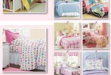 HABITACIONES Y EDREDONES CHICOS Y CHICAS / Ambientes y Edredones o cubrelechos para el cuarto de los chicos y las chicas