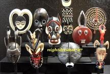 Ndebele Dolls, Carved Figures, Masks, etc. / by Carene Boykin