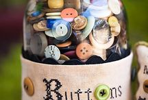 BUTTONS / Grandma's Sewing Basket / by Diana Carson