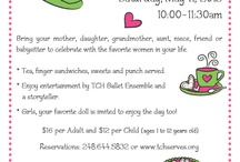 mother and daughter tea