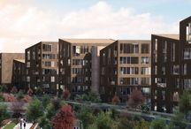 KAT PLANLARI | Ankara Evleri / İncek Loft, eski Ankara dokusunu da unutmadı! Gaziosmanpaşa evleri şimdi İncek'te! 11 adet, 4-7 katlı binadan oluşuyor.