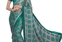 Exclusive Brasso Sarees / Best collection of Brasso Sarees  Check out- http://bit.ly/1RQmv1p