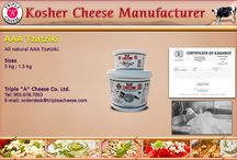 Kosher Cheese Manufacturer