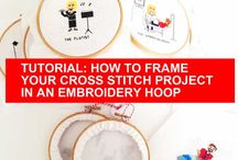 Craft Tutorials / Learning how to Cross Stitch and Pixel crochet tutorials.