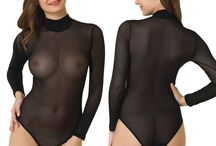 Ladies Bodysuit Collection / Fashion Bodysuits as a Thong and Bikini from Designer Label DOREANSE from European Boutique Label NBB Lingerie / KEFALI Cologne