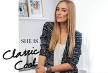 "She is Classic Cool. / Style insights from designer and blogger - Kimberly Pesch of ""Eat Sleep Wear"". / by TACORI"