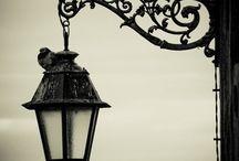 Lámpák / Antik, utcai lámpák